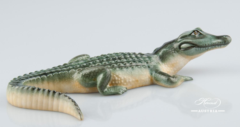 Alligator 15540-0-00 C Naturalistic - Herend Animal Figurine