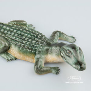 Alligator 15540-0-00 C Naturalistic - Herend Animal Figurine