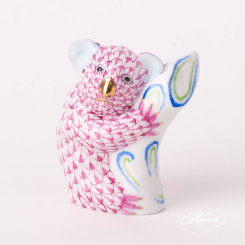 "Herend Fine china animal figurine. Handpainted. Height 6.5 cm (2.5""H)."