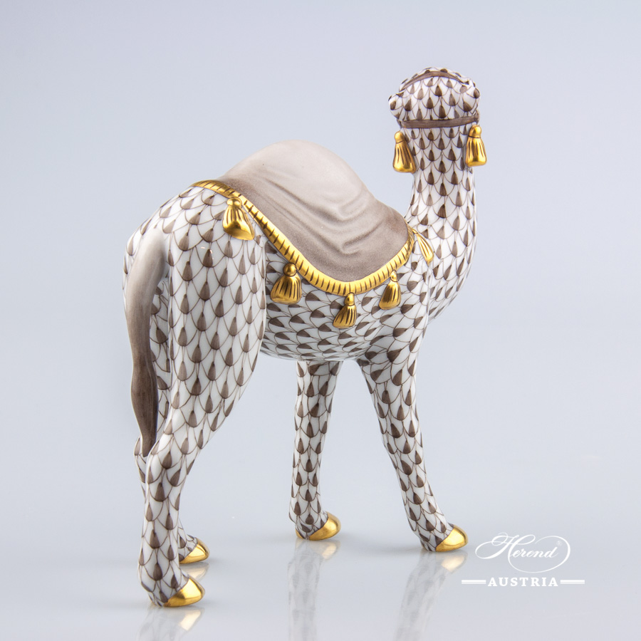 Camel 15515-0-00 VHBR1 Brown - Herend Animal Figurine