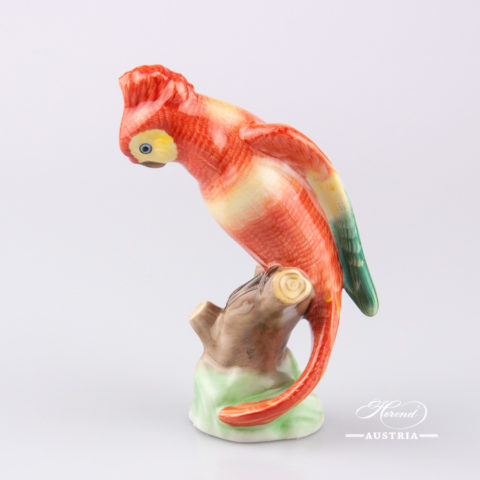 Cockatoo 5009-0-00 C Naturalistic - Herend Animal Figurine