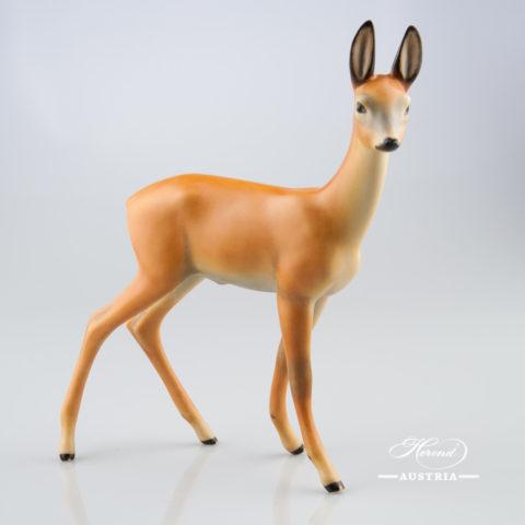 Deer 15282-0-00 MCD Brown - Herend Animal Figurine