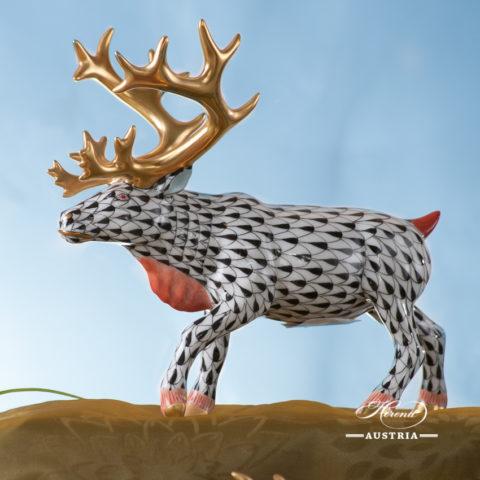 Herend Deer figurine VHBR