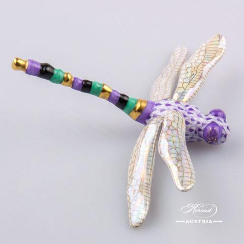 Dragonfly 15918-0-00 VHL Violet - Herend Animal Figurine
