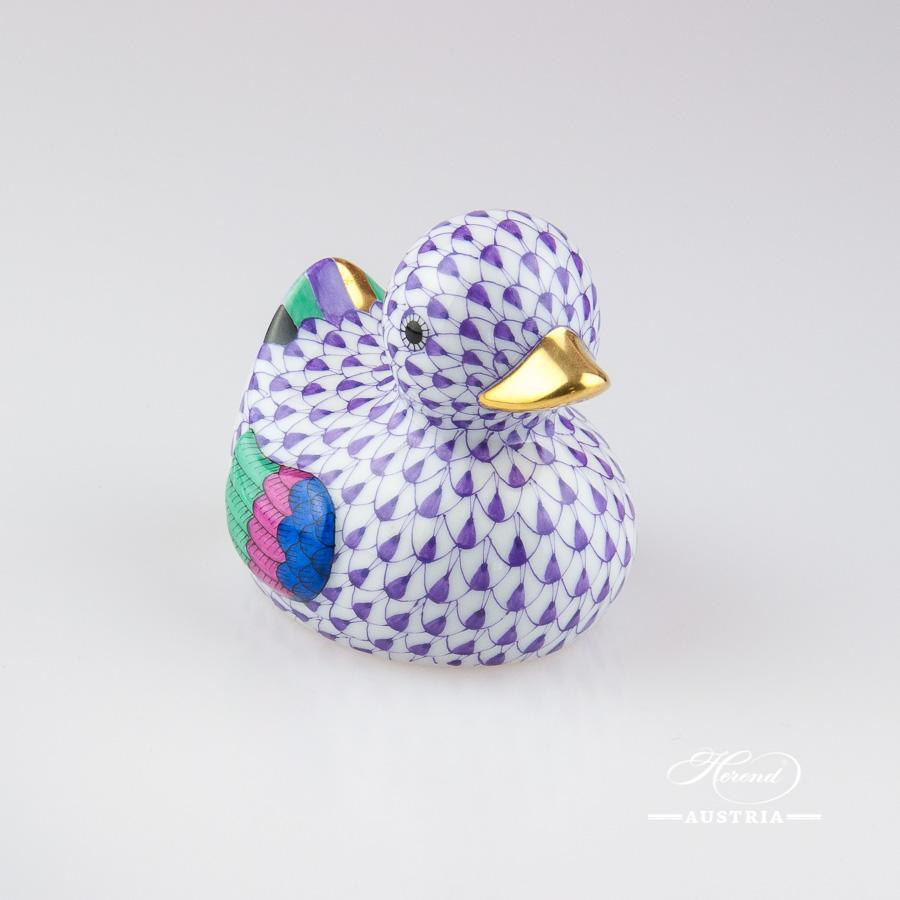 Duck 15239-0-00 VHL Violet - Herend Animal Figurine