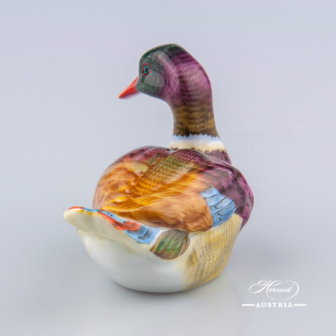 Duck 15336-0-00 CD Naturalistic - Herend Animal Figurine