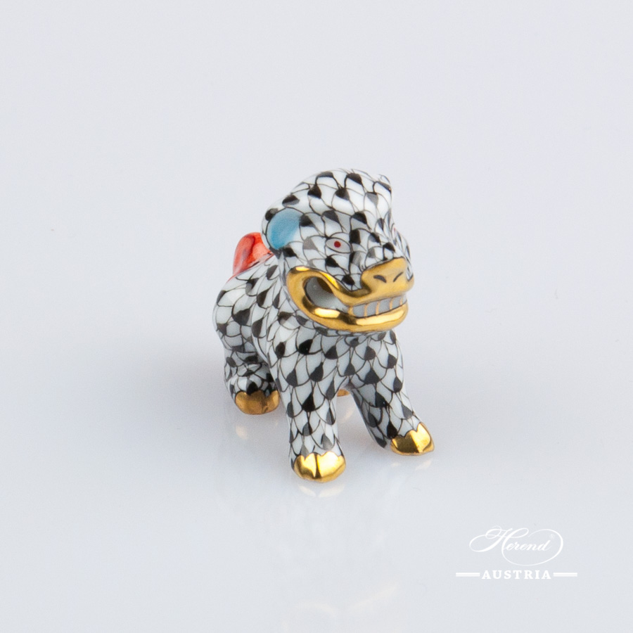 Dolphin small 15397-0-00 PTVH Platinum - Herend Porcelain Animal Figurine