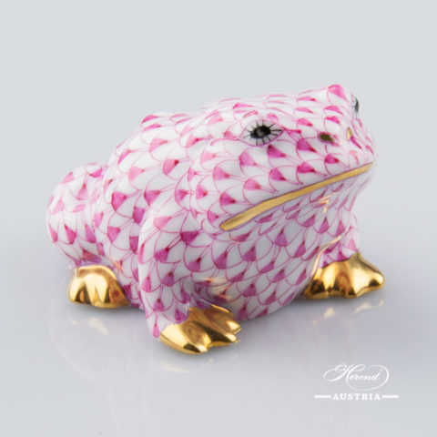 Frog Toad 15321-0-00 VHP Pink - Herend Animal Figurine