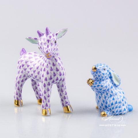 Goat Baby 5134-0-00 VHL Violet - Herend Animal Figurine