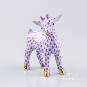 Goat Baby 5134-0-00 VHL Violet - Herend Animal Figurine