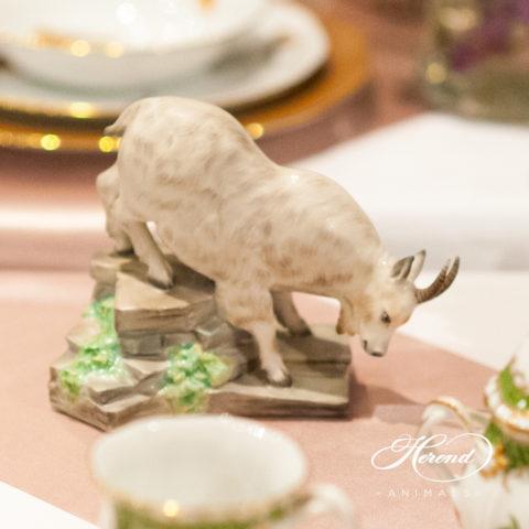 Goat fine china figurine
