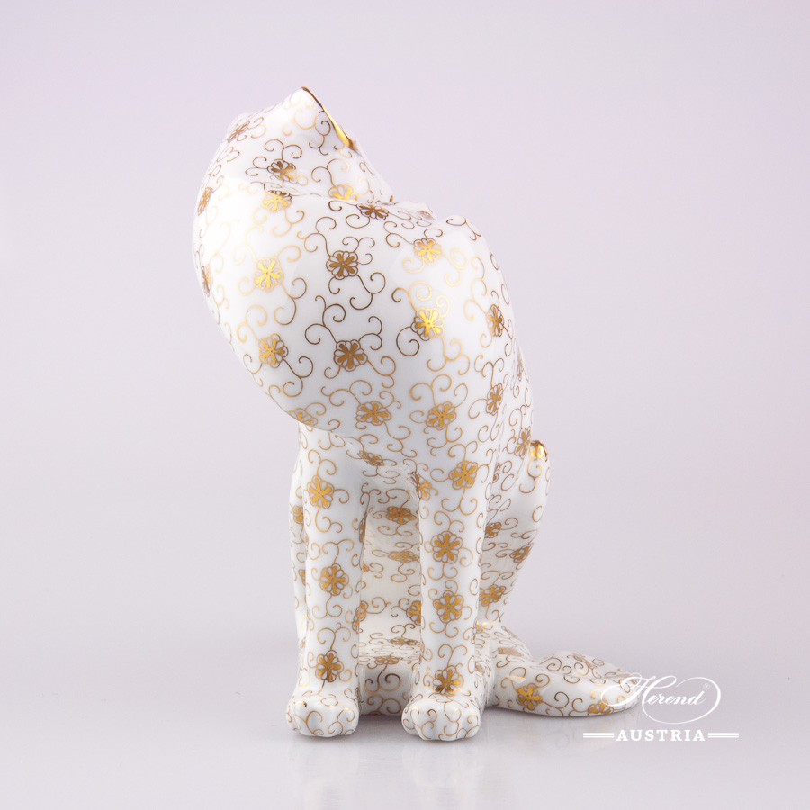 Guepard 15144-0-00 NCS-7 Gold - Herend Animal Figurine