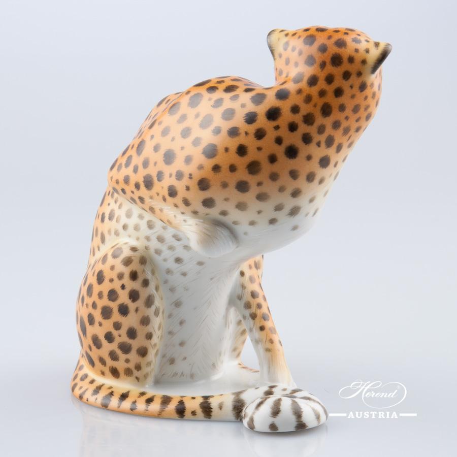 Guepard 15145-0-00 MCD Naturalistic - Herend Animal Figurine