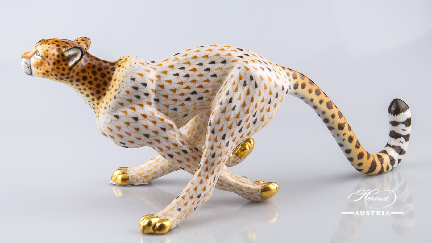 Guepard big 15656-0-00 VHSP32 Special - Herend Animal Figurine
