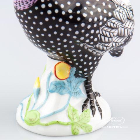 Guinea Fowl 5011-0-00 C Naturalistic - Herend Animal Figurine
