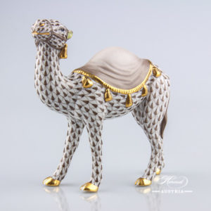 Camel 15515-0-00 VHBR1 Brown - Herend Animal Figurine
