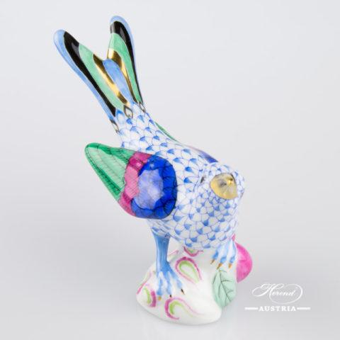 Hummingbird 5111-0-00 VHB Blue - Herend Animal Figurine