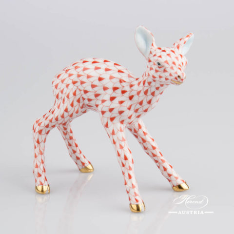 Roe Fawn 15621-0-00 VHR - Herend Animal Figurine