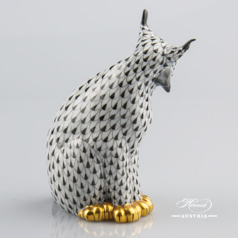 Lynx 15331-0-00 VHNM - Herend Animal Figurine