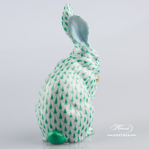 Rabbit 15307-0-00 VHV Green - Herend Animal Figurine
