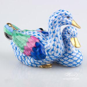Pair of Ducks 5036-0-00 VHB Blue - Herend Animal Figurine