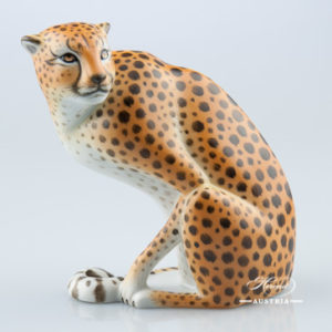 Guepard 15145-0-00 MCD Naturalistic - Herend Animal Figurine