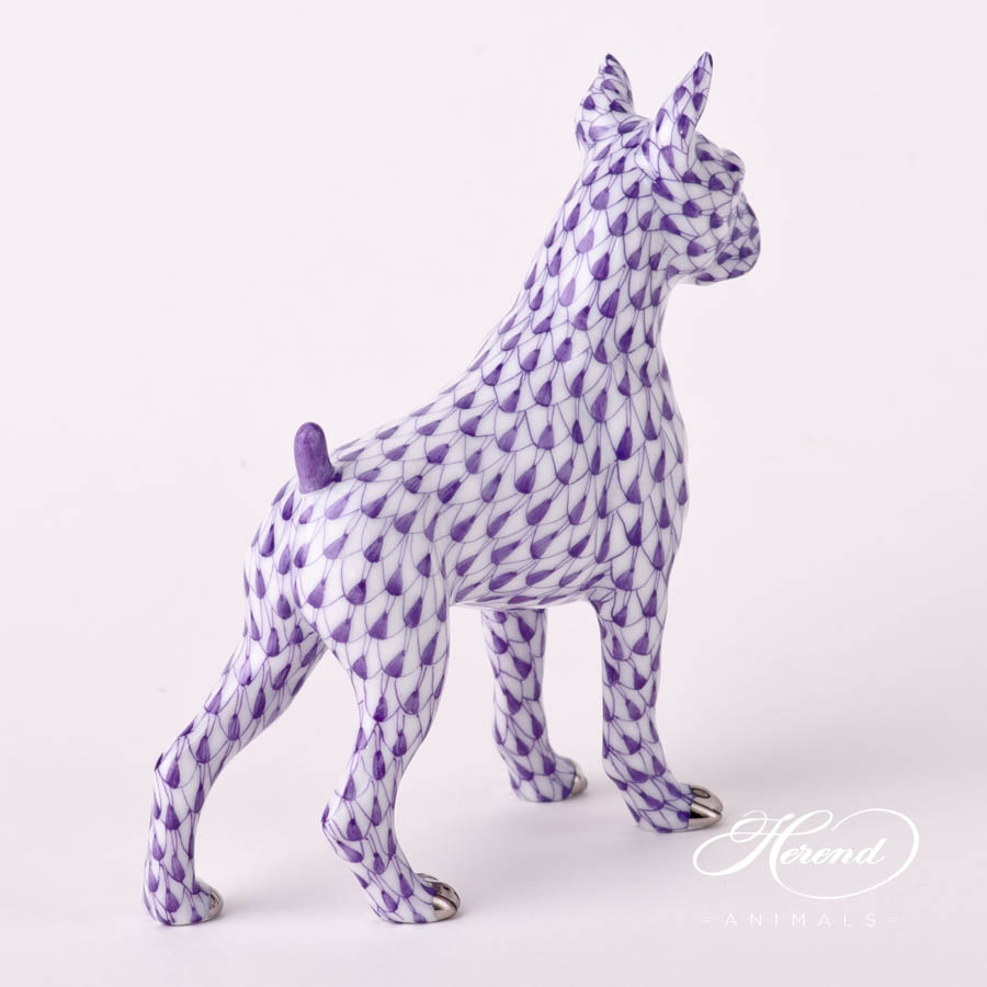 "Platinumdesign. Herend fine china animal figurine. Handpainted. Length: 8.4 cm (3.25""L)."