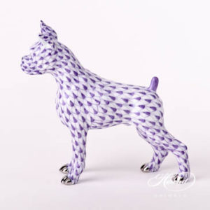 "Platinum design. Herend fine china animal figurine. Handpainted. Length: 8.4 cm (3.25""L)."