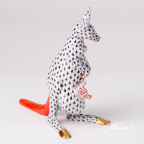 Kangaroo w. Baby15328-0-00 VHN BlackFish