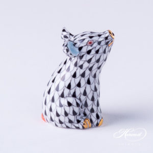 "Toucan 5155-0-00 VHB Blue fishscale decor - Herend Fine china animal figurine. Hand painted. Height: 17.5 cm - (6.9""H)."