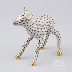 Roe Fawn 15621-0-00 VHBR1 Brown - Herend Animal Figurine