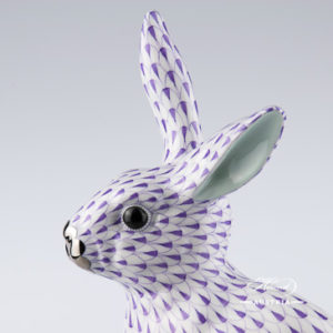 Rabbit big 5334-0-00 VHL-PT Violet - Herend Animal Figurine