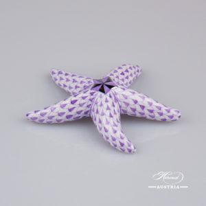 Starfish 15815-0-00 VHL-PT Violet - Herend Fine china Animal Figurine