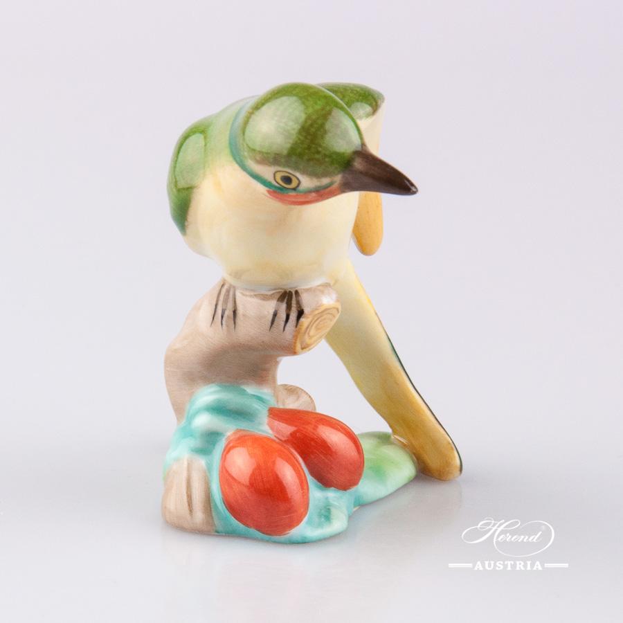 Humming Bird 5110-0-00 C Naturalistic - Herend Animal Figurine