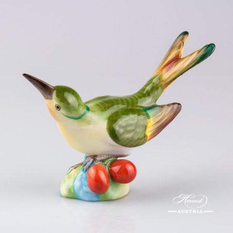 Humming Bird 5111-0-00 C Naturalistic - Herend Animal Figurine