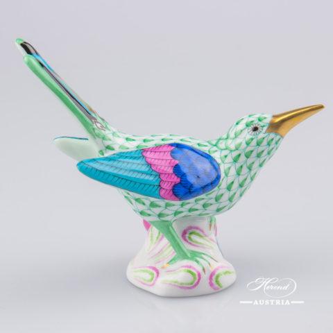 Pair of Birds 5059-0-00 VHV Green - Herend Animal Figurine