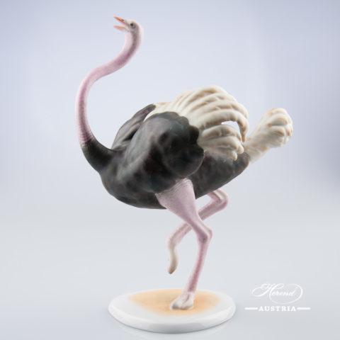 Ostrich 15482-0-00 MCD Naturalistic - Herend Animal Figurine