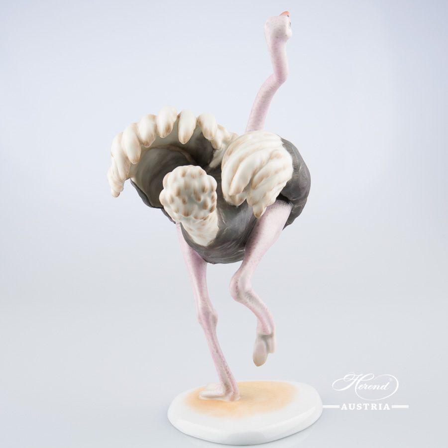 Ostrich 15482-0-00 MCD Naturalistic - Herend Animal Figurine