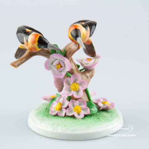 "Rabbit 15570-0-00 VHR Red Fish scale decor. Herend fine china animal figurine. Hand painted. Length: 8.5 cm (3.5""L)"
