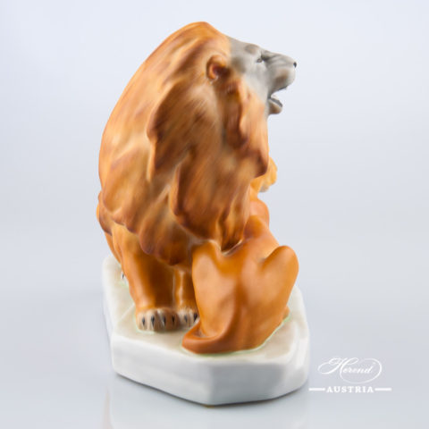 Pair of Lions 5217-0-00 MCD Naturalistic - Herend Animal Figurine