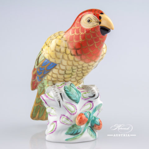 Parrot 5002-0-00 CO Naturalistic - Herend Animal Figurine