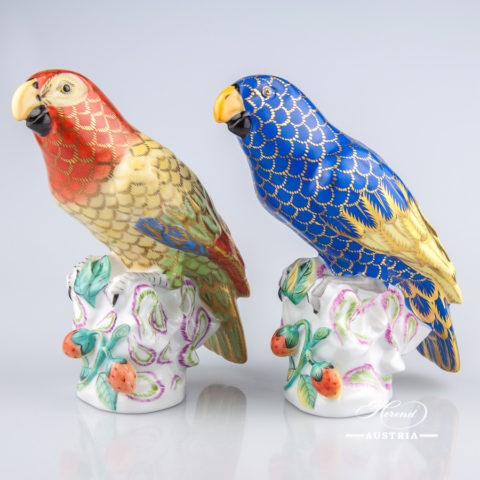 Parrot 5002-0-00 CO and CO3 Naturalistic - Herend Animal Figurines