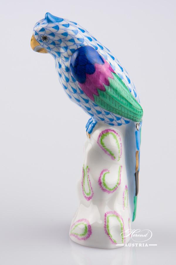 Puffin 15480-0-00 VHB Blue - Herend Animal Figurine
