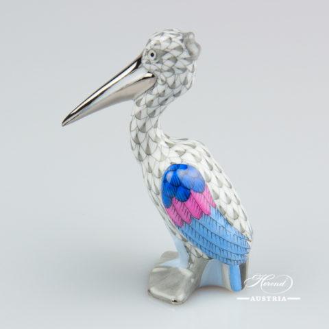 Snake 15330-0-00 PTVH Platinum - Herend Porcelain Animal Figurine