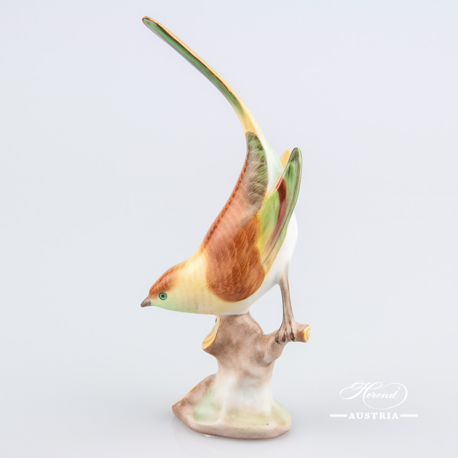 Pied Wagtail 5136-0-00 C Naturalistic - Herend Animal Figurine