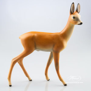 Deer 15282-0-00 MCD Brown - Herend Animal Figurine