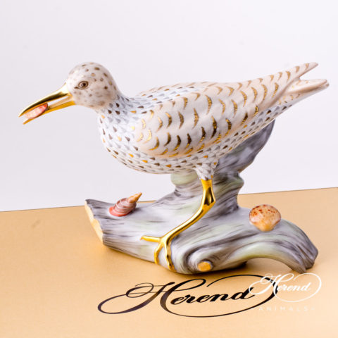 "Sandpiper 5791-0-00 VHSP70 Special Fish scale decor. Herend Fine china animal figurine. Hand painted. New in 2017. Limited edition. Length 24.0 cm (9.5""L)"