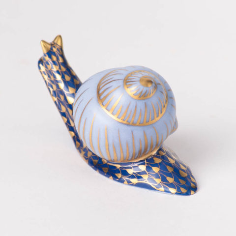 Snail 15518-0-00 VHB-OR Gold Fish Scale design.