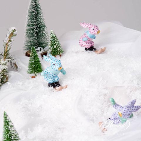 Skiing Bunny / Rabbit5564-0-00 VHTQ Turquoise