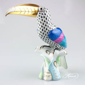 Toucan bird - Herend fine china